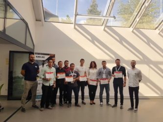 Candidates successfully finished the training for programming of industrial robots