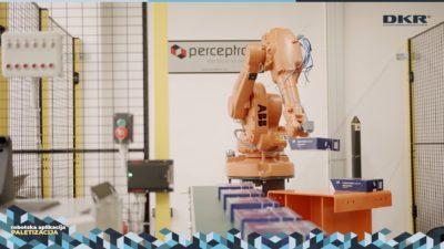 Robot paletizacija