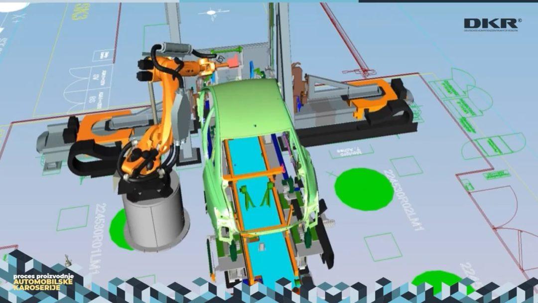 Proces proizvodnje automobilske karoserije