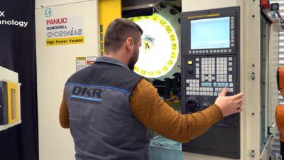 FANUC ROBODRILL α-D21MiA5 CNC machine