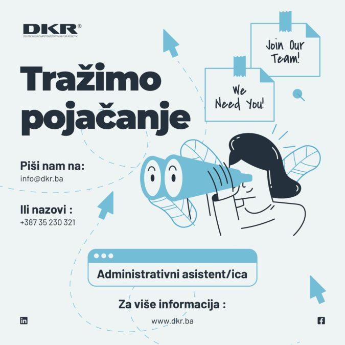Tražimo pojačanje: Administrativni asistent/ica!